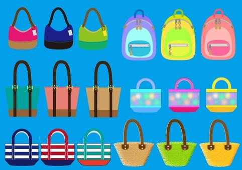 Bag set ~ light blue series