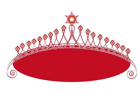Red tiara C
