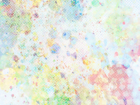 Colorful background material