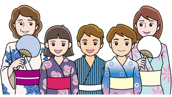 Friend Yukata