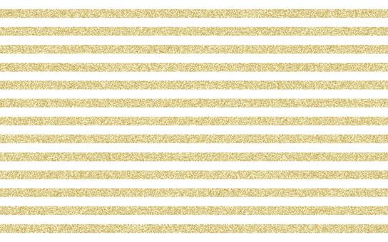Lame gold stripe