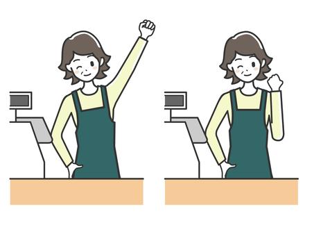 Women cash register 6