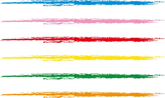 Colorful choke