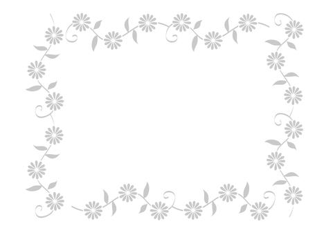 Frame, flower flower