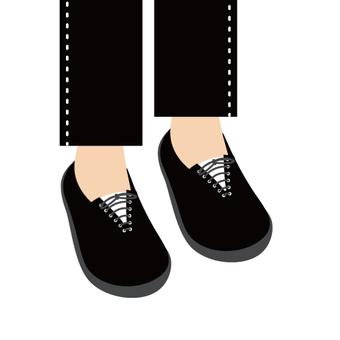 Image of feet (sneakers)