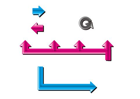 Arrow chart style