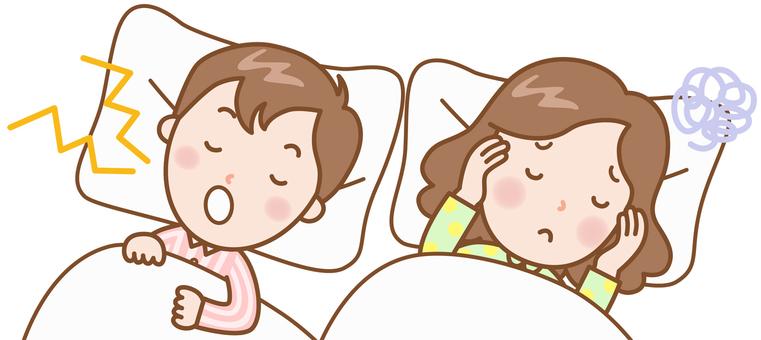 Men & women: snoring