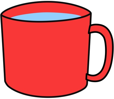 Cup red