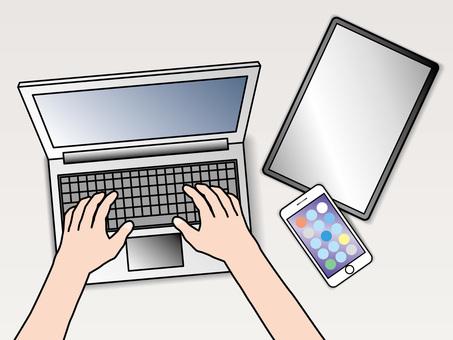 PC operation (169) PC smartphone tab