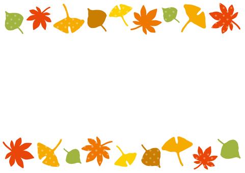 낙엽 프레임 2