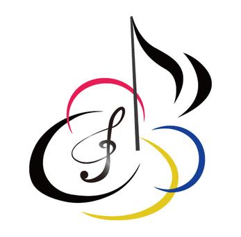 음악 로고 아이콘 2