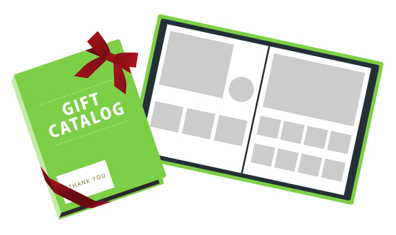 Gift Catalog Page Green