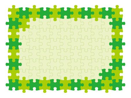 益智框架绿色