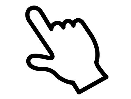 手袋 シルエット イラストの無料ダウンロードサイト シルエットac