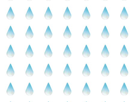 Drop of water drops