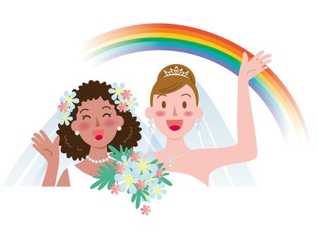 Marriage between women-Rainbow 6