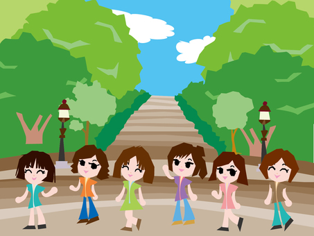 Person appearance girls 3