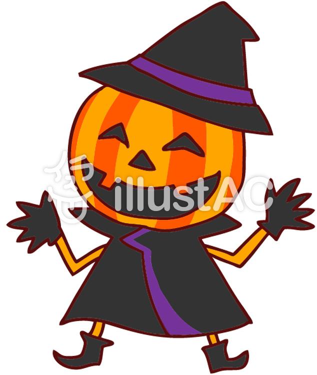 ハロウィンおばけかぼちゃのイラストイラスト No 549886無料
