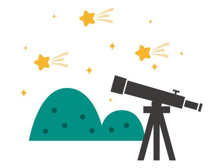 Astronomical observation (meteor shower)