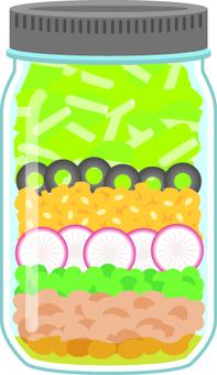 Jar salad C