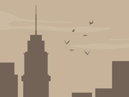 A sad city