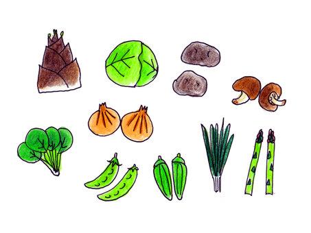 Spring vegetables 2
