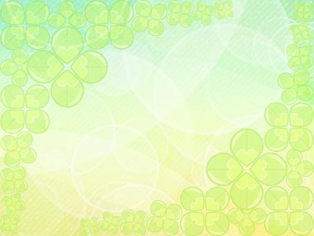 Four leaf clover background 001