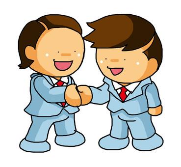 Salary handshake