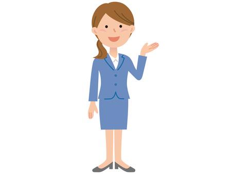 51024. Women's guide, whole body