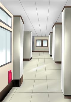 学校 廊下 背景