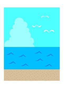 Seascape landscape