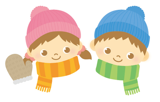 Child winter