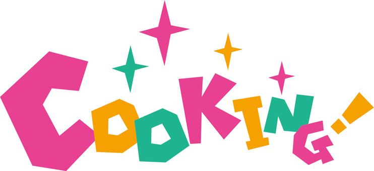 Cooking! Cooking! Logo