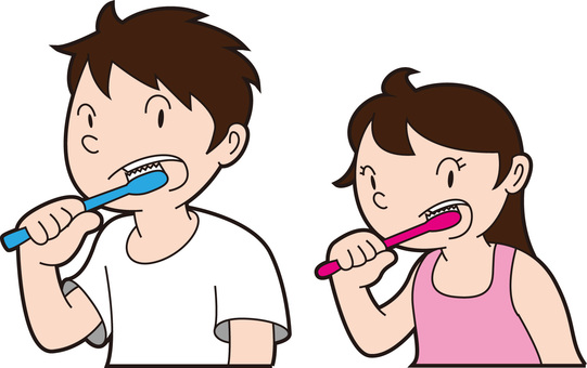 Toothpaste parent and child