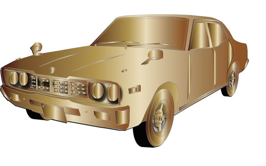 황금 자동차