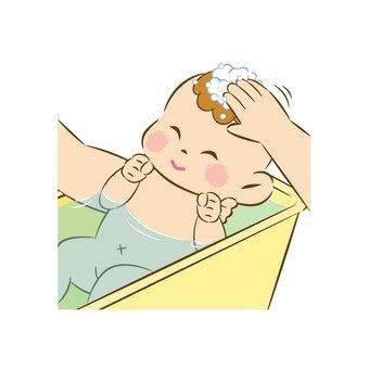 Baby's bathing 5