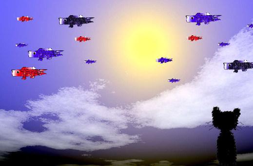 Koinobori fly in the sky 2