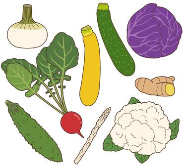 Vegetables (pale vegetables) 3/3