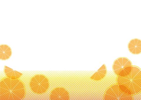 오렌지 소다 - 텍스처