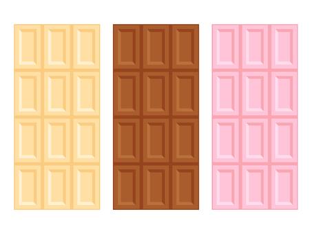 Board chocolate · 3 kinds