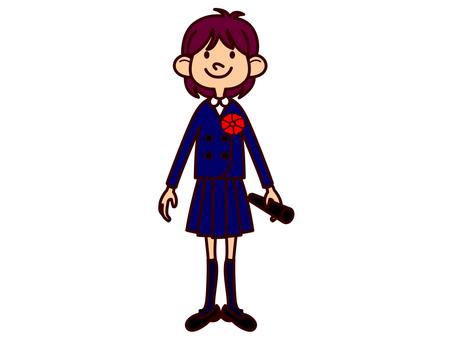 Uniform girl (graduation)