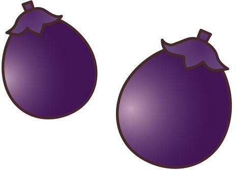 Pills and eggplant