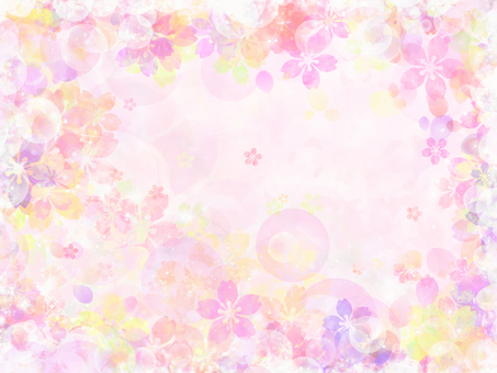 Sakura pink background