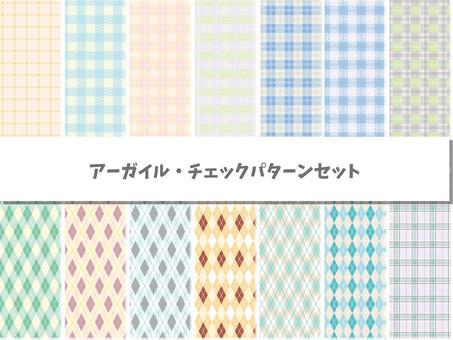 Check Argyle pattern