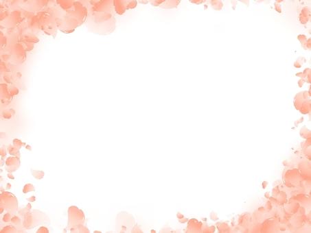 桜フレーム オレンジ