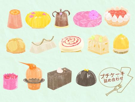 Petit cake assortment set