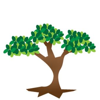 Trees 7 100 × 100mm