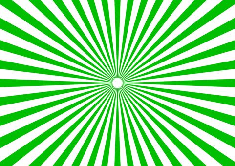 Radiation detail green