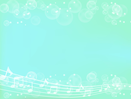 Musical note and light background 2