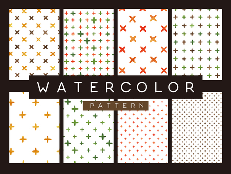 Watercolor texture pattern 02